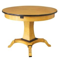 Biedermeier Expandable Dining Table