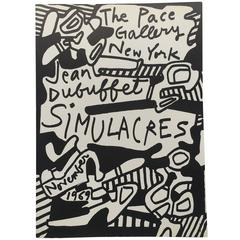Jean Dubuffet – Simulacres, 1969