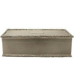 Antique Sterling Silver Cigarette Box