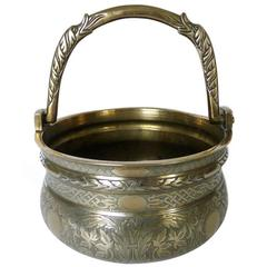 16th Century, Italian Bronze Bucket 'Situla' with Swing Handle, circa 1525