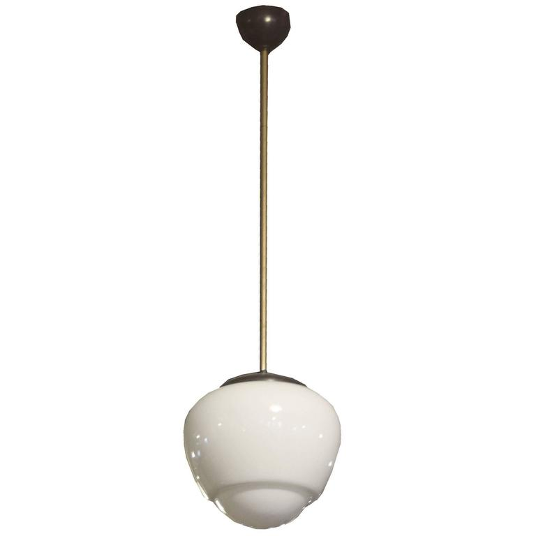Mid-Century Czech Light Fixture For Sale