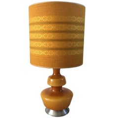 Mid-Century Table Lamp by Holmegaard, 1960s