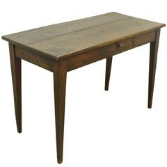 Narrow Antique Chestnut Writing Table