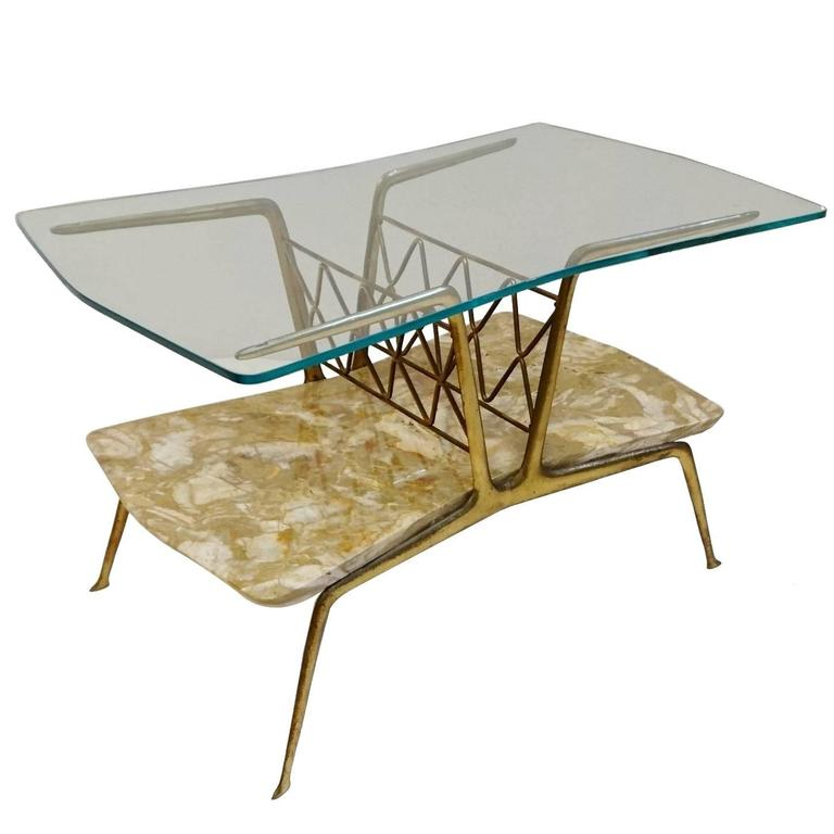 Mid Century Coffee Table In The Manner Of Gio Ponti For Sale At 1stdibs