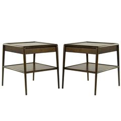 Pair of T.H. Robsjohn-Gibbings for Widdicomb End Tables