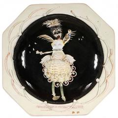 """Miss Bali"" Shell Art Work in Custom Display Case, by Maria Jarreau-Heller"