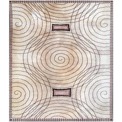 Rug, 20th Century, Art Deco Period by Jacques-Emile Ruhlmann