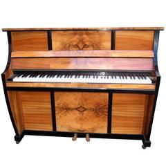 Original 1930s Waldberg Art Deco Piano