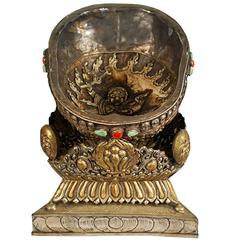 18th Century Tibetan Kapala