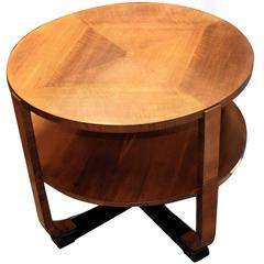 1930s Art Deco Occasional Table