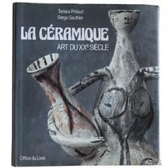 """""""La Ceramique Art Du XX Eme Siècle"""" Book"""