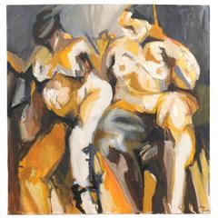 Two Nude Figures