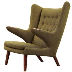 Hans J. Wegner 'Papa Bear' Easy Chair
