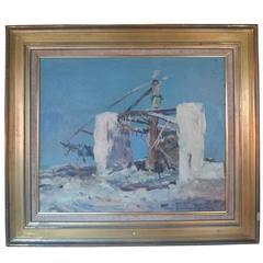 René Zimmermann Landscape Painting