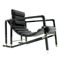 eileen gray transat lounge chair by ecart international 1980s for