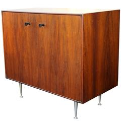 George Nelson for Herman Miller Rosewood Thin Edge Chest Cabinet Server