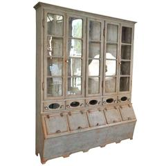Sensational 19th Century Grenotier, Grain Bin Storage Cabinet from Portugal