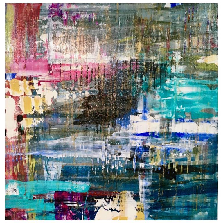 """Way of the Wonderer"", Original Acrylic on Panel by Ryan Fugate, 2016"