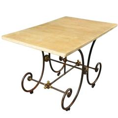 French 19th Century Butcher Table