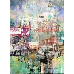 """Destination I"" Original Acrylic on Panel Painting by Artist Ryan Fugate, 2016"