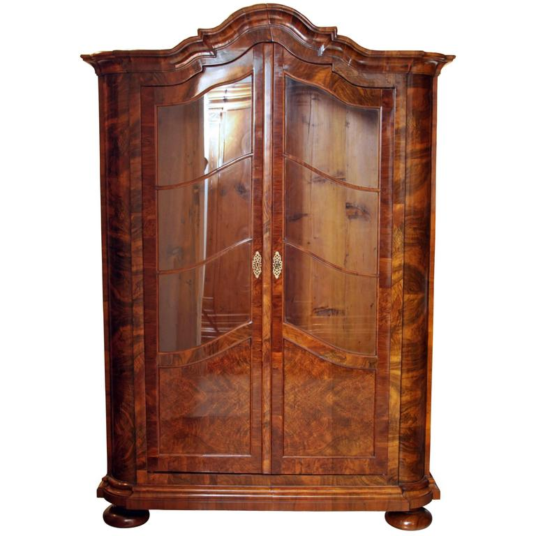 baroque display cabinet german 18th century at 1stdibs
