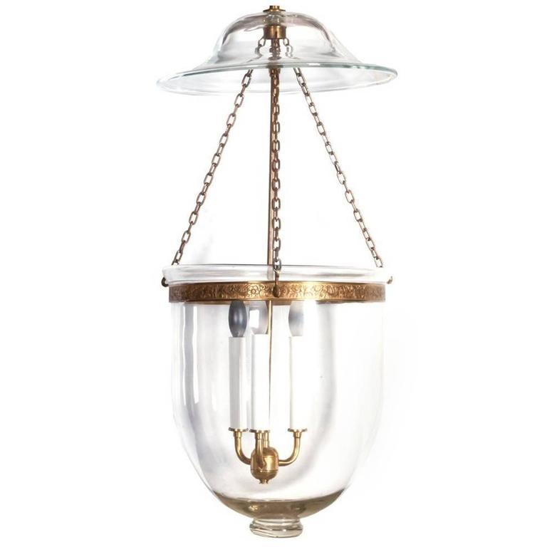 Vintage Bell Jar Hanging Lantern For Sale At 1stdibs