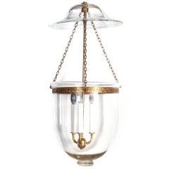 Vintage Bell Jar Hanging Lantern