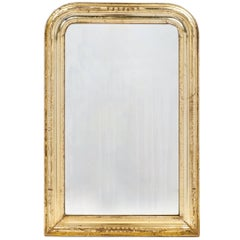 Louis Philippe Period Gold Leaf Mirror, circa 1845