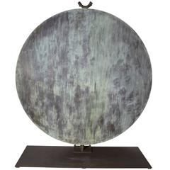 Monumental Copper Gong by Harry Bertoia