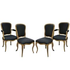 Four French Dining Chairs