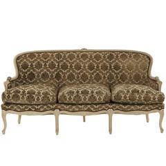 Vintage Louis XV Settee