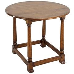 Handsome English Handcrafted Oak Tavern Table