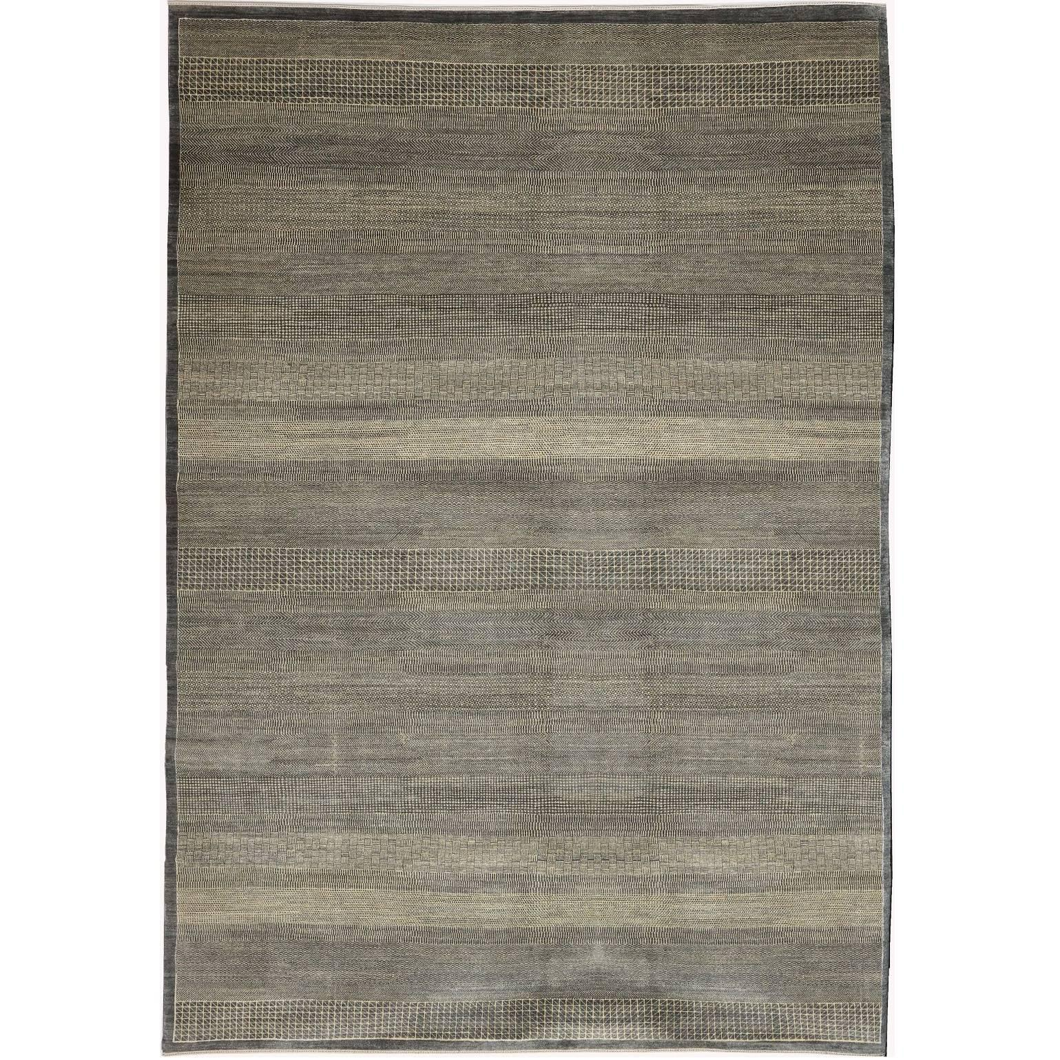 Orley Shabahang Signature Carpet in Handspun Wool and Organic Vegetable Dyes