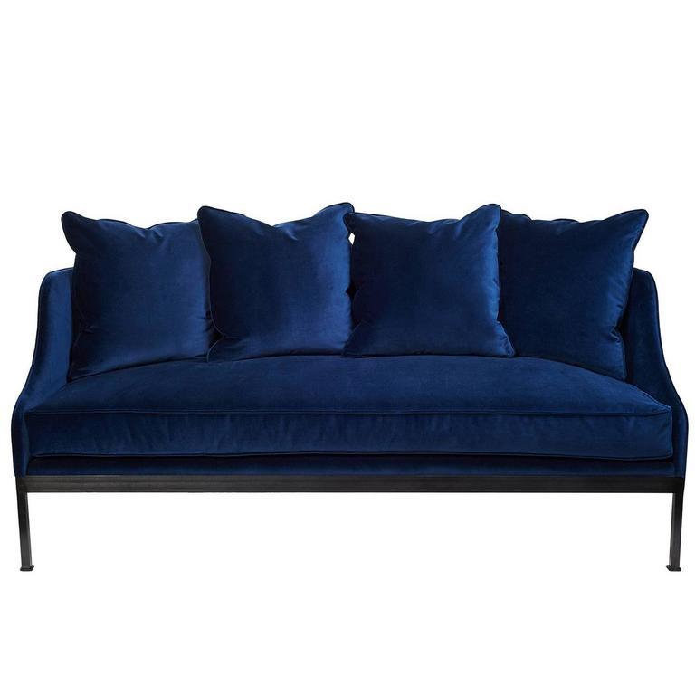 Metal Frame Sofa For Sale At 1stdibs