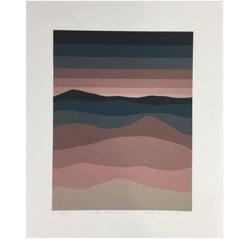 "Roy Ahlgren Silk Screen Print ""Al Khuban"""