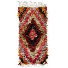 Dazzling Angora Mohair Tulu Rug