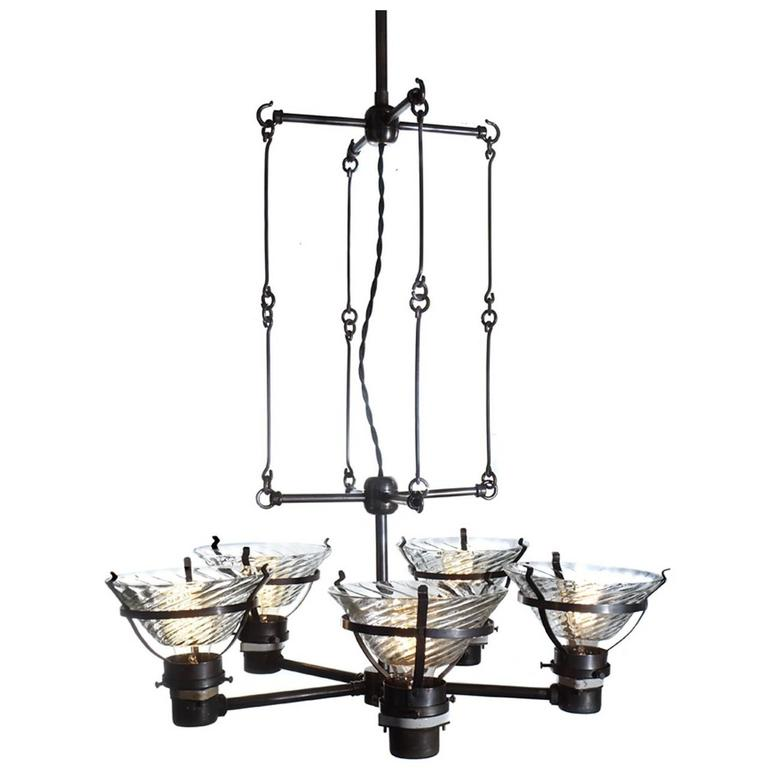 Unique skeletal x ray chandelier for sale at 1stdibs for Unique chandeliers for sale
