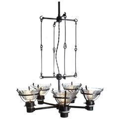 Unique Skeletal X-Ray Chandelier