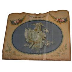 Antique Lacquered Canvas
