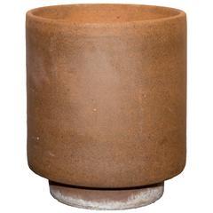 Mid-Century American Pro Artisan David Cressey Unglazed Cylinder Planter