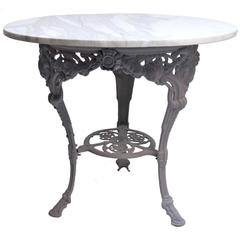 19th Century, French, Garden Cafe Table