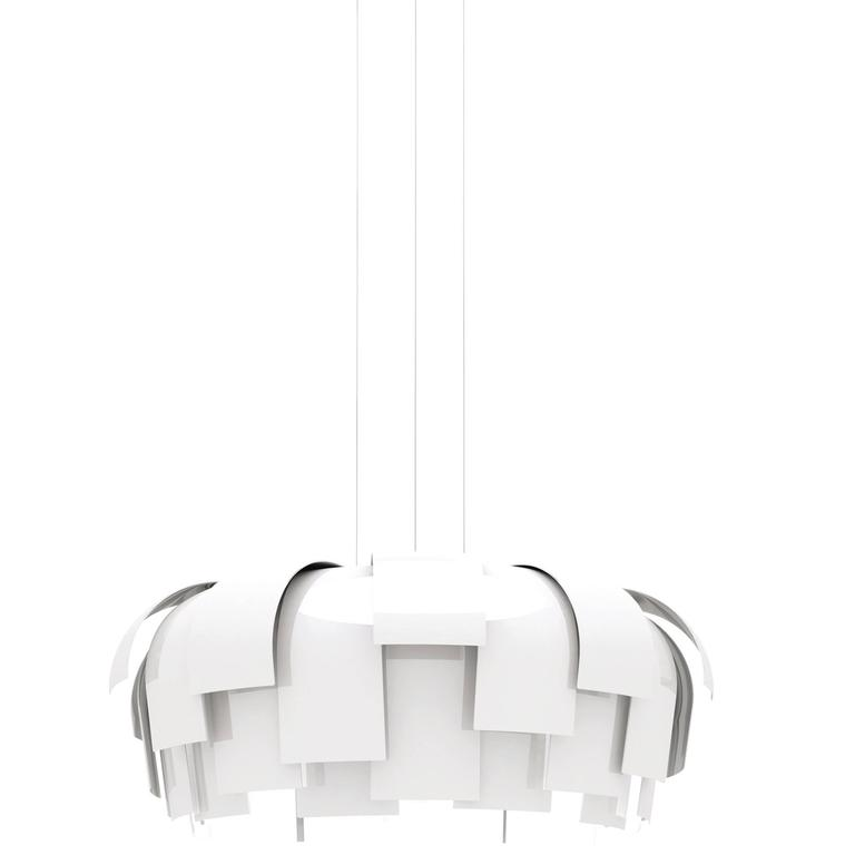 Fontana Arte Wig Suspension Lamp by Chris Hardy