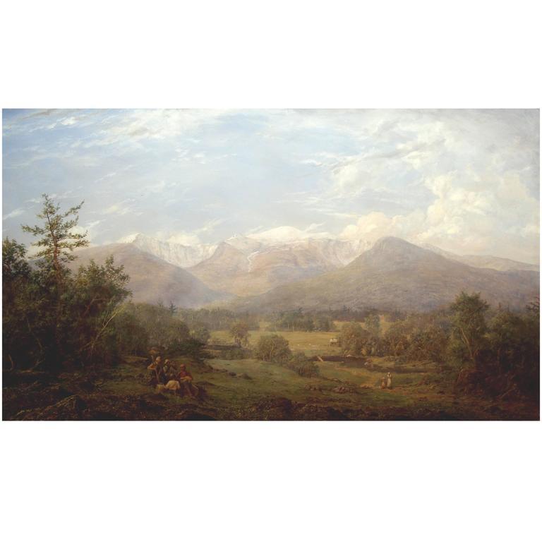 Erik Koeppel White Mountain Landscape Oil Painting Mt. Washington NH 1