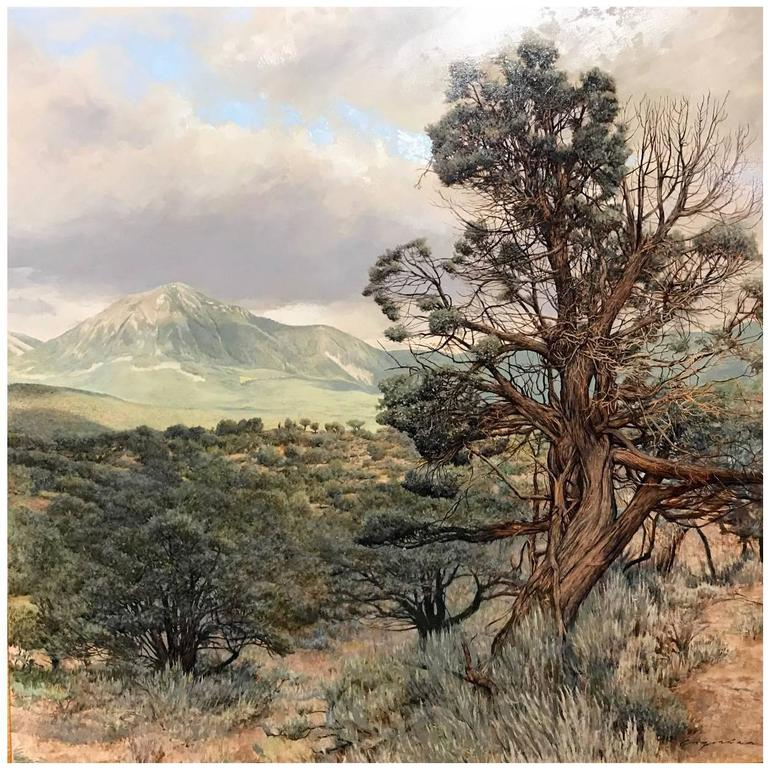 Erick Ingraham Oil Painting Landscape, Colorado High Desert