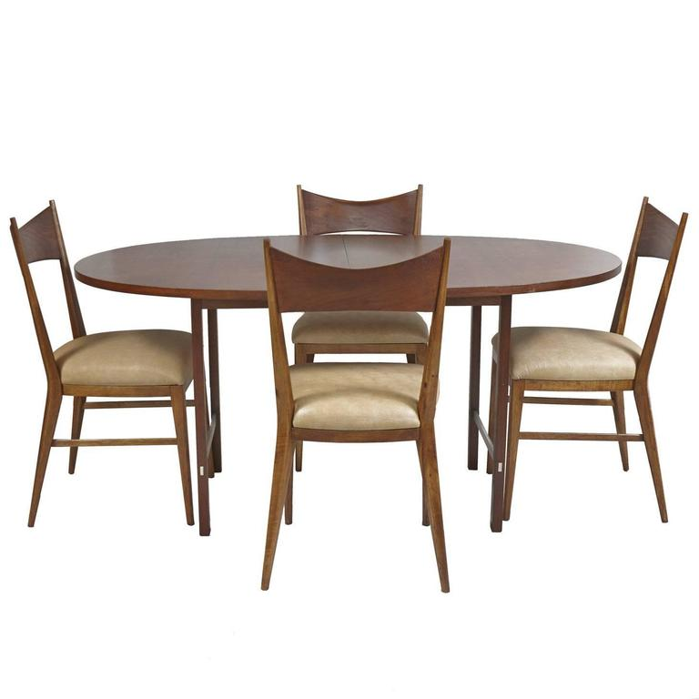 Tables Chairs For Sale: Paul McCobb For Calvin Dining Room Table And Chairs For