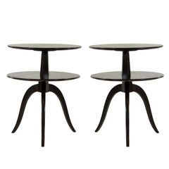 Paul Frankl for Brown Saltman Tiered Side Tables