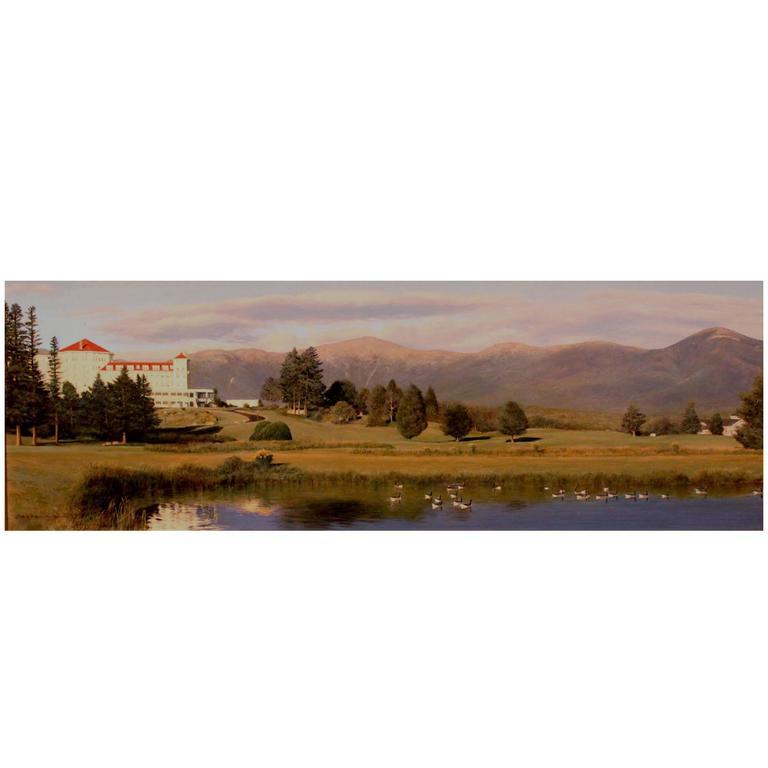 Erick Ingraham Nh White Mountain Landscape, The Mount Washington Inn