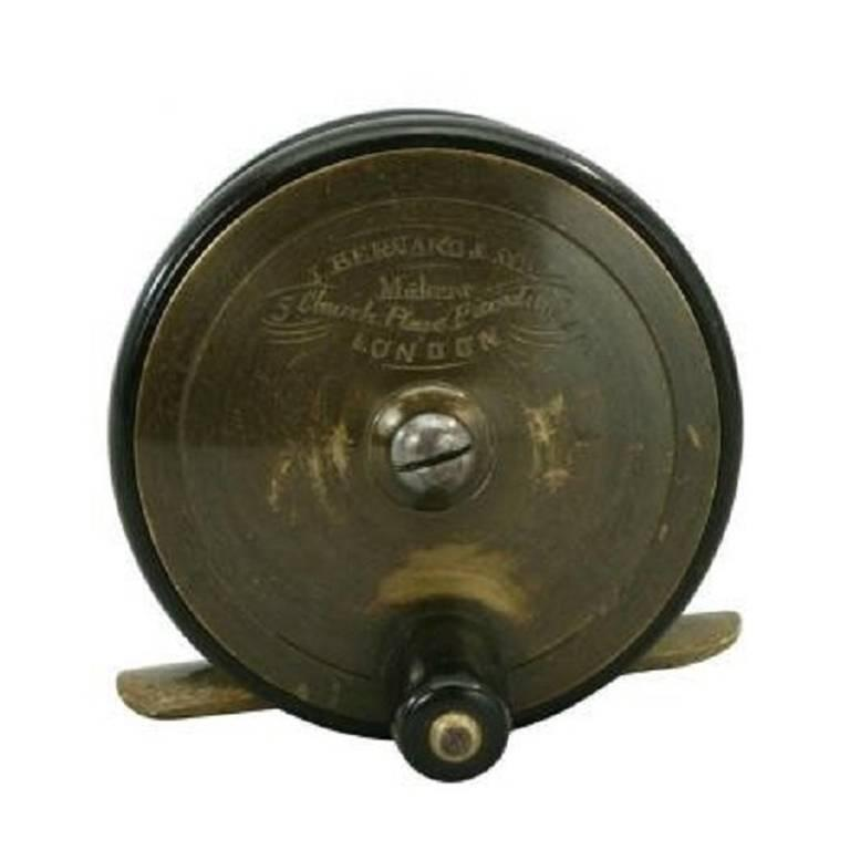 Vintage J Bernard And Son Trout Fly Fishing Reel For Sale