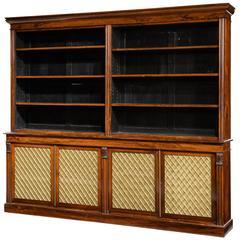 Regency Period Four-Door Bookcase
