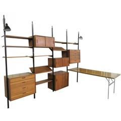 "George Nelson ""Omni"" Wall Unit"